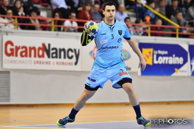 HANDBALL - Grand Nancy Métropole Handball / Valence - Proligue 2016-2017 - Photo Pierre ROLIN